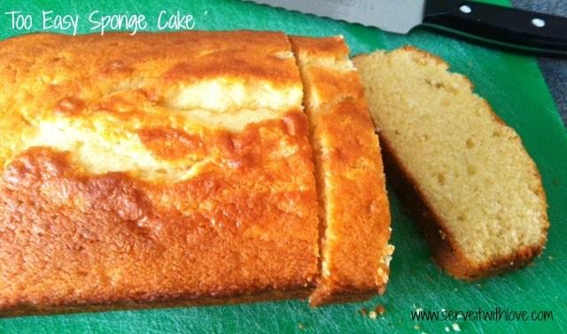 Too Easy Sponge Cake