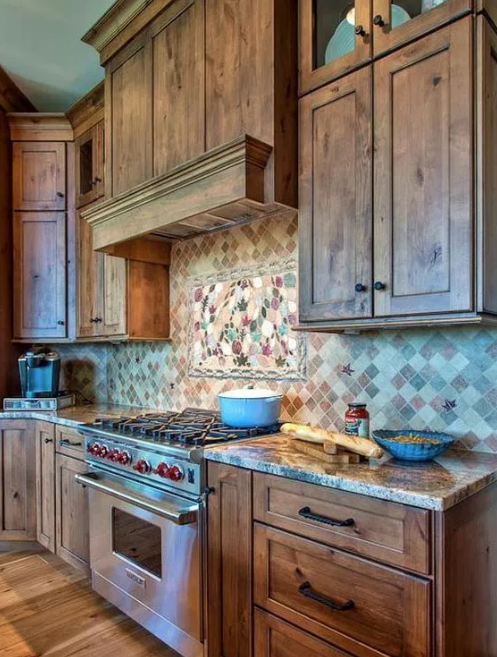 Rustic Neutral Kitchen