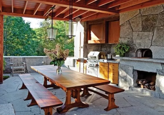 rustic outdoor kitchen ideas by houzz